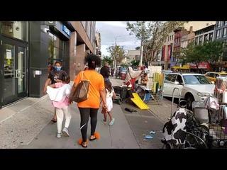 NYC LIVE Walking Harlem, Manhattan (September 14, 2020)