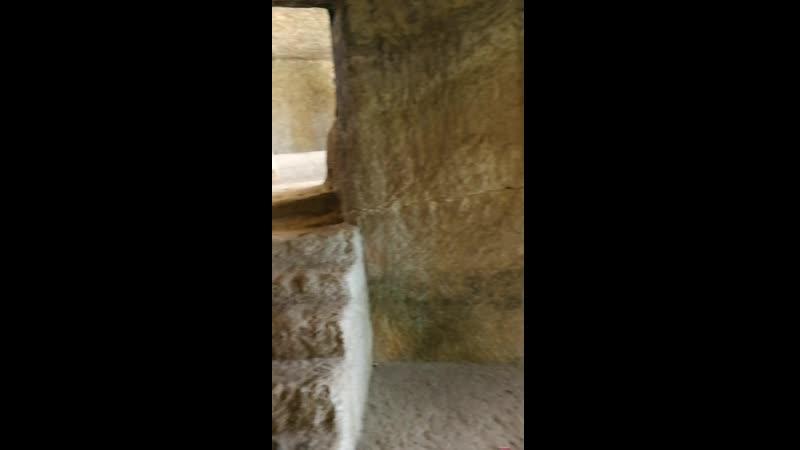 Чуфут кале Бахчисарай храм пещеры древние поселения пейзаж горы эхо mp4