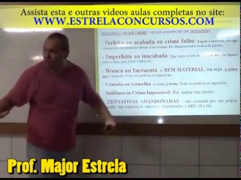 Aula 08 IBFC QUESTÕES DE PENAL ESPÉCIES DE TENTATIVAS É A PEGADA DA IBFC