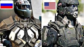 Самая Мощная и Технологичная Военная Форма в Мире   Топ 10
