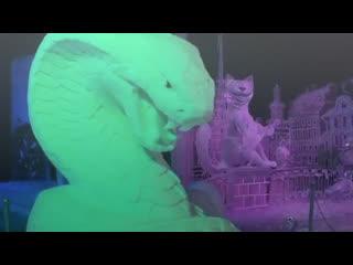В Питере стартовал фестиваль ледовых скульптур