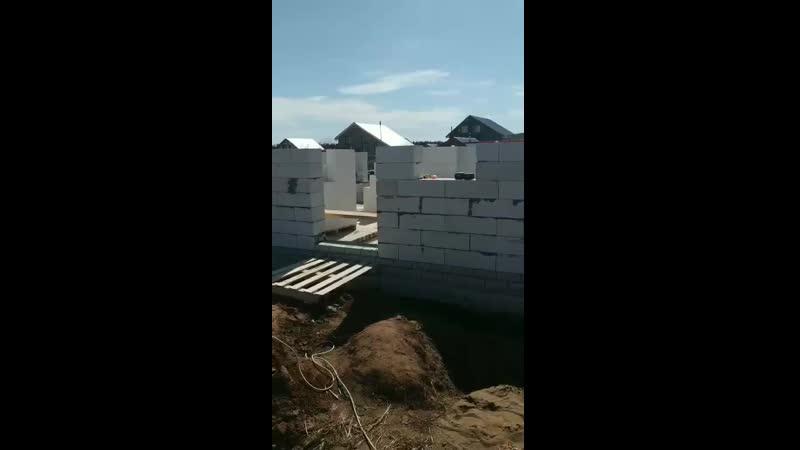 Продолжаем строительство дома