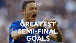 INCREDIBLE Semi-Final Goals!   Giggs, Gascoigne, Drogba & Lampard   Emirates FA Cup