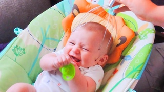 Funniest Baby Reactions When Massages - WE LAUGH