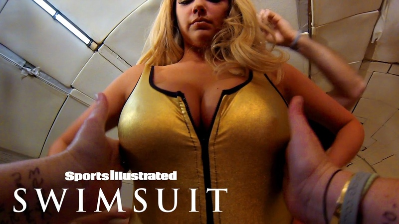 Kate Upton Floats Above You In Zero Gravity: Behind The Scenes Sports Illustrated Swimsuit