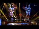 Голос 2 - Антон Беляев и Алeна Тойминцева - Hit the road jack (fullHD)