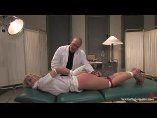 Pandemonium [Nurse Sin] Samantha Sin, Nurse, BDSM, Anal, Bondage, Gagged, Domination, Spanking, Dildo, Deep Throat, Facial
