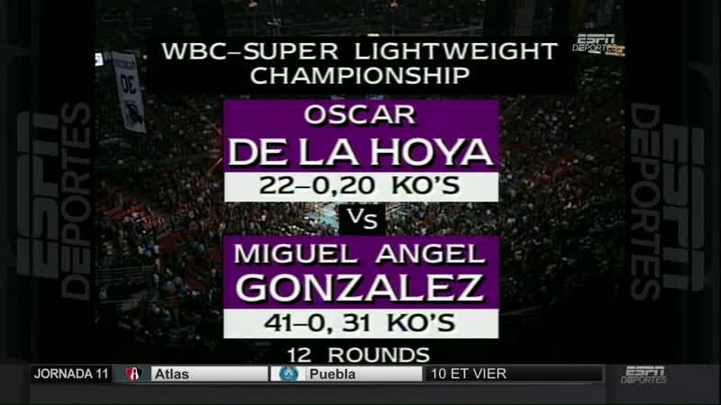 Miguel Angel Gonzalez vs Oscar De La Hoya 1080р