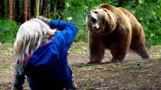 Девушка когда-то помогла медвежонку выжить без матери, и вот как он ей отплатил…